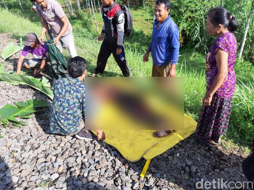Warga Ngawi Tewas Tertabrak KA Logawa, Diduga Bunuh Diri