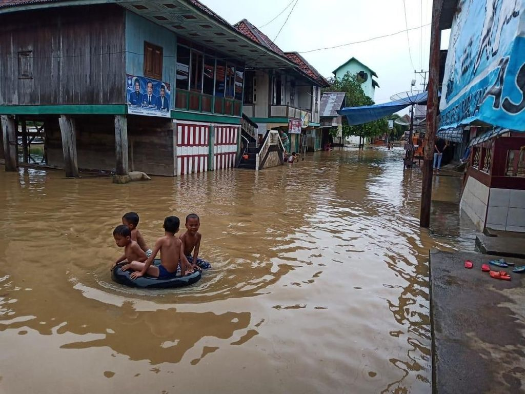 Sungai Musi Meluap, Ribuan Rumah di Muratara Sumsel Terendam Banjir