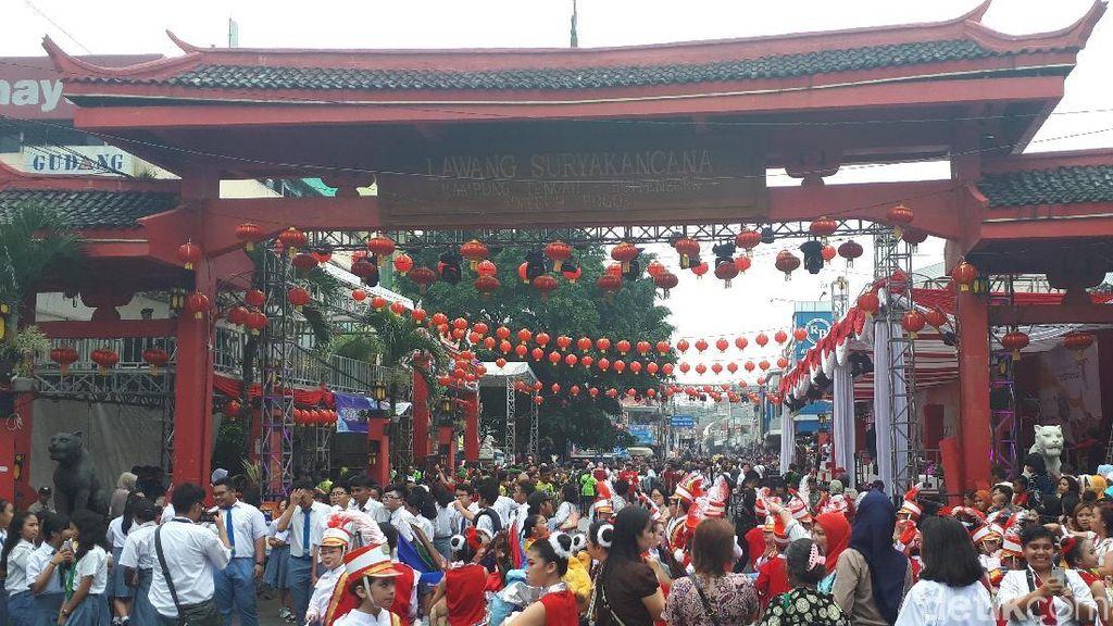 Foto: Meriahnya Perayaan Cap Go Meh di Bogor
