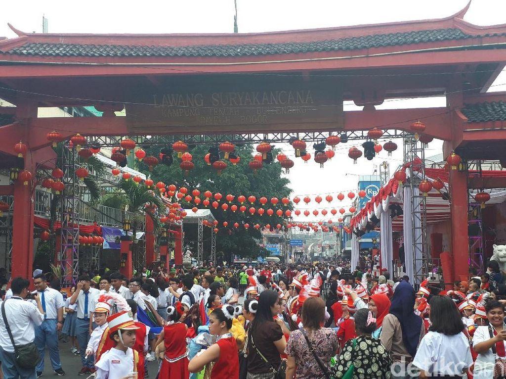 Cap Go Meh, Ribuan Warga Padati Bogor Street Festival 2019
