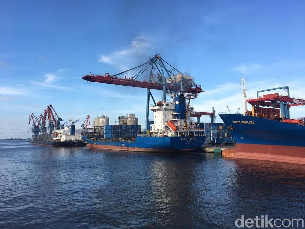Pelindo II Sebut Tak Ada Larangan Kapal Bersandar di Tanjung Priok