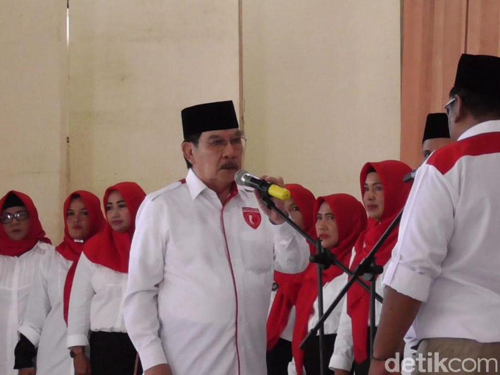 Deklarasi Garda Jokowi di Babel, Antasari Azhar Target Raih 67% Suara