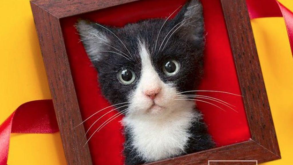 Lucunya Pajangan Kucing Karya Seniman Jepang