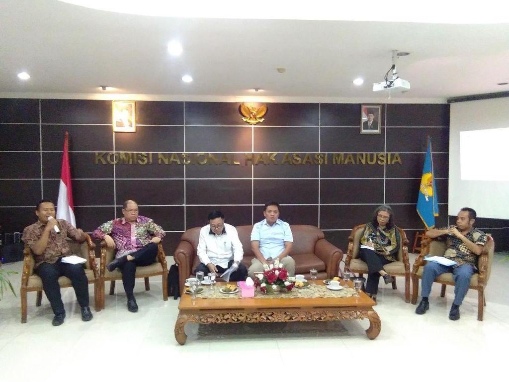 Usai Ajak TKN Jokowi, Komnas HAM Undang BPN Prabowo Diskusi Soal HAM