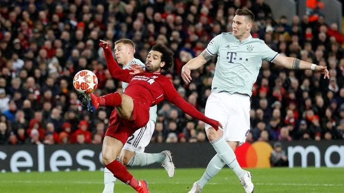 Liverpool vs Bayern Munich imbang 0-0. (Foto: Carl Recine/Reuters)