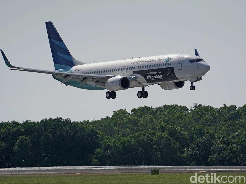 Pekan Depan, Tiket Pesawat Garuda Jakarta-Padang Turun 50%