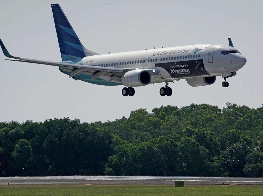 Xpander Terbang Bersama Garuda Indonesia