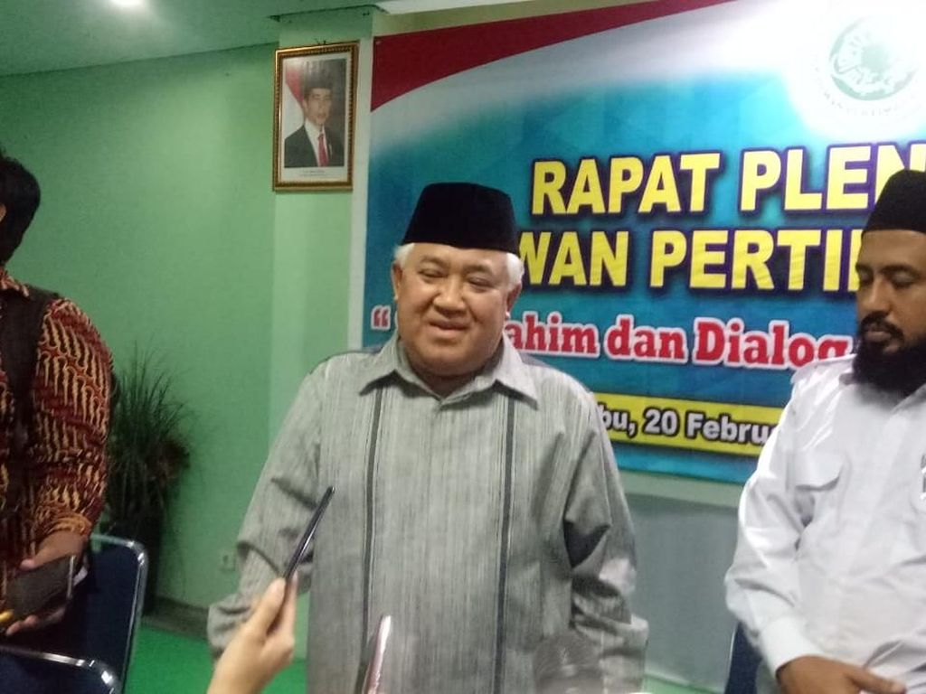 Din Syamsuddin: Parpol Islam Sekarang Porak Poranda