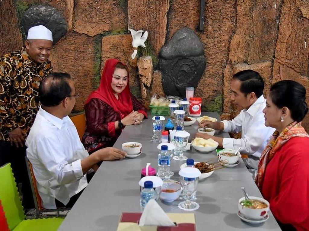 Iriana Jokowi Pilih Menu Khas Solo yang Nikmat untuk Sarapan