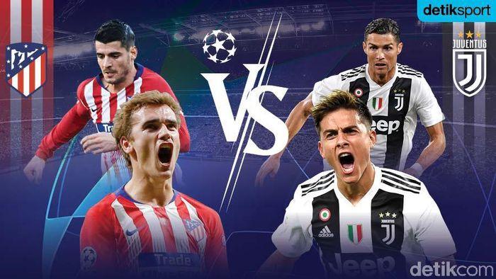 Atletico Madrid Libas Juventus