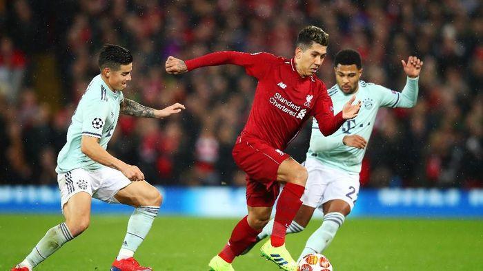 Menahan dua full back tetap di belakang jadi kunci keberhasilan Bayern Munich meredam Liverpool (Clive Brunskill/Getty Images)