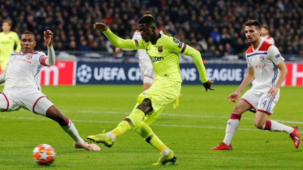 Mau Main Setengah Jam Lagi pun Barcelona Tak Akan Bisa Bikin Gol
