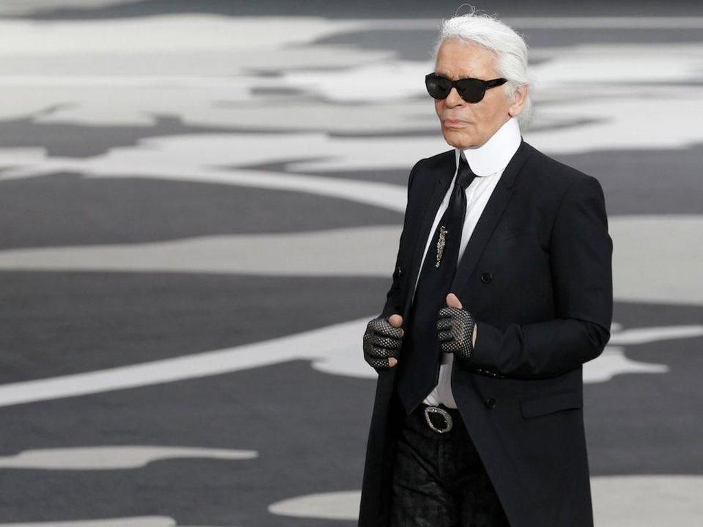 Karl Lagerfeld Akan Rilis Koleksi Makeup dengan LOreal Paris