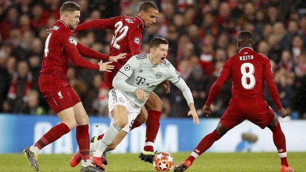 Meski kalag penguasaan bola, tetapi Liverpool punya peluang gol lebih banyak.