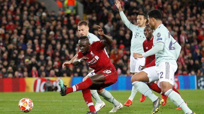 Liverpool bermain imbang 0-0 melawan Bayern Munich di leg pertama 16 besar Liga Champions (Foto: Carl Recine/Action Images via Reuters)