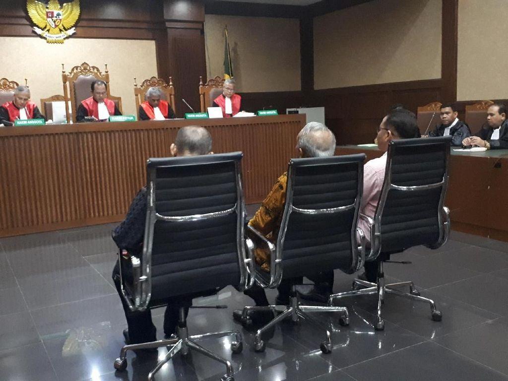 3 Anggota DPRD Sumut Didakwa Terima Suap dari Gatot Pujo