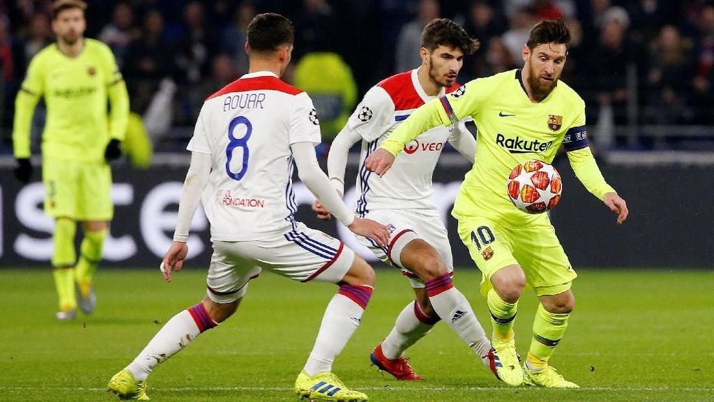 25 Tembakan Barcelona Tanpa Hasil