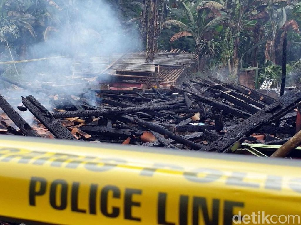 Jejak Kelam Jamaludin Pembakar Anak-Istri di Sukabumi