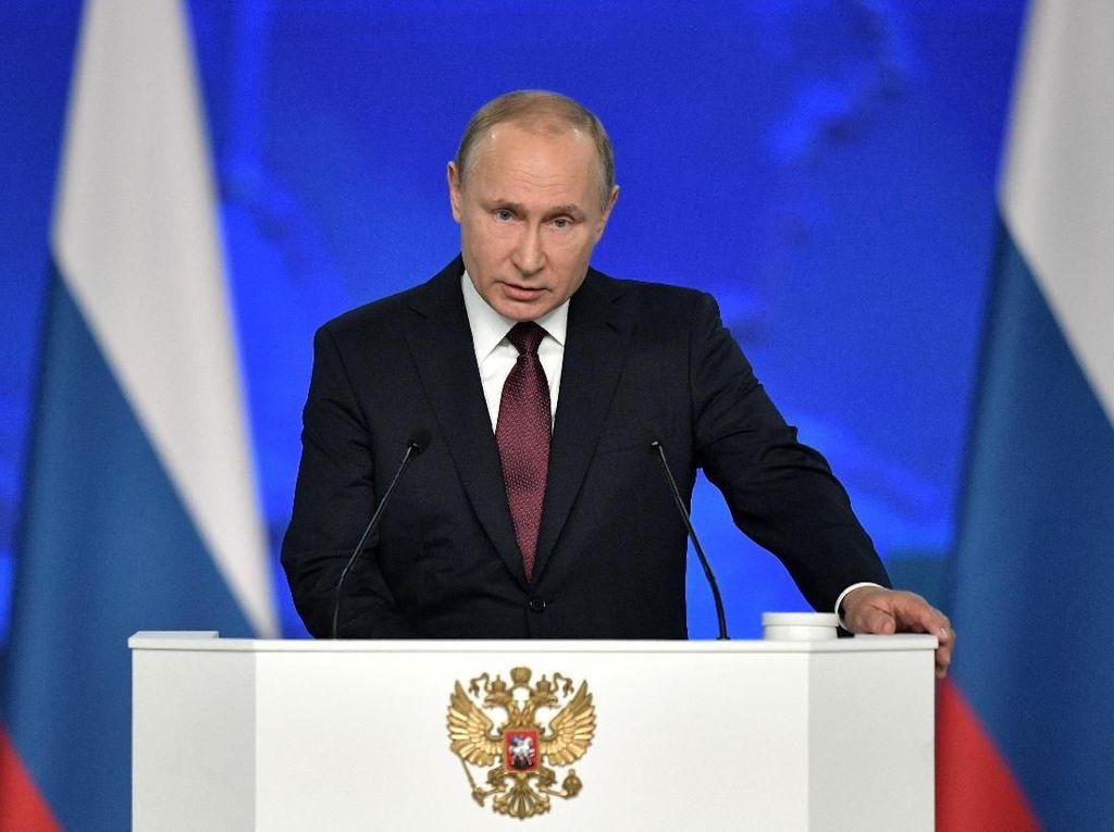 Putin Klaim Rusia Hentikan Aktivitas 600 Mata-mata Asing