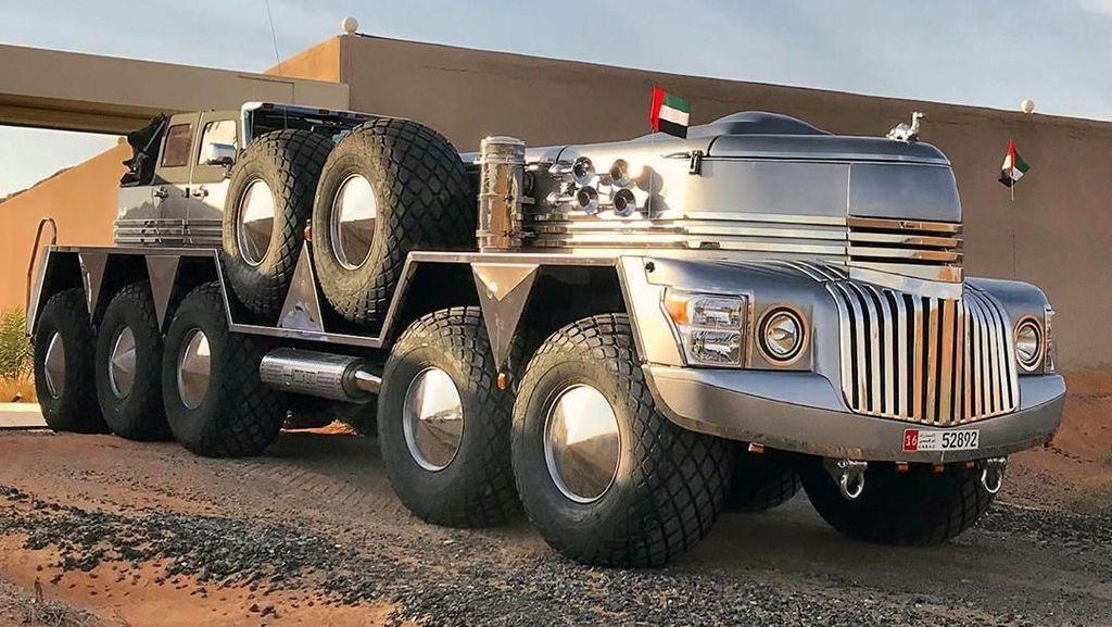 Mobil Unik Syekh Arab, Punya 10 Roda