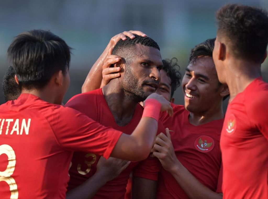 Susunan Pemain Thailand Vs Indonesia: Marinus-Egy-Saddil Starter