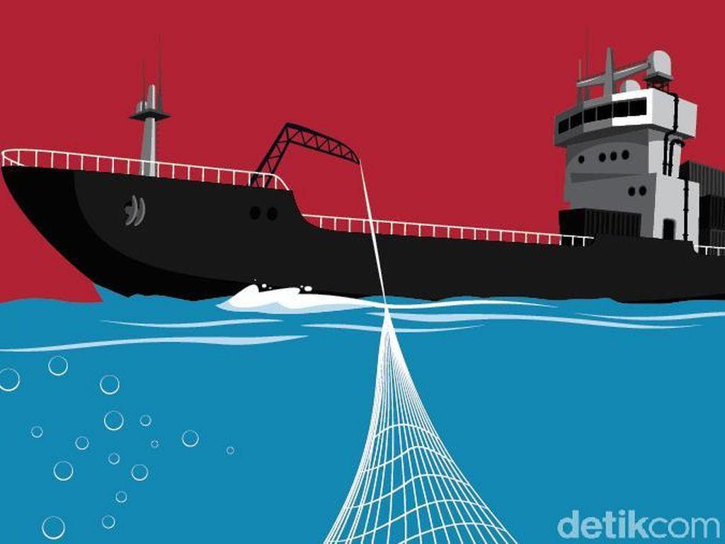 Heroik! RI Tangkap Kapal Maling Ikan yang Buron 10 Tahun