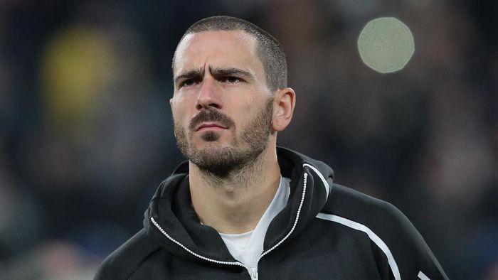 Bek Juventus Leonardo Bonucci. (Foto: Emilio Andreoli/Getty Images)