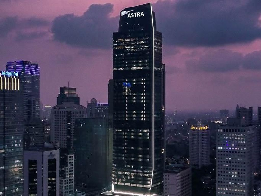 Menara Astra Tambah Jajaran Pencakar Langit di Jakarta
