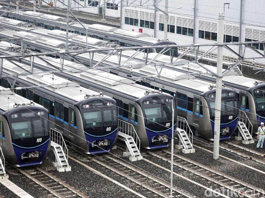 Dimulai 12 Maret 2019, Uji Coba MRT Angkut 285.600 Penumpang