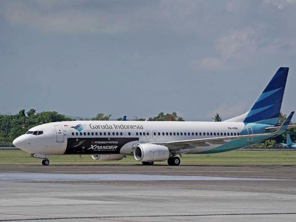 Tiket Garuda Jakarta-Padang Turun, Harga Mulai Rp 999.999