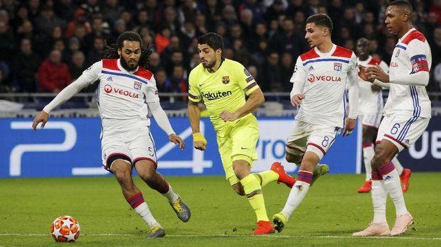 Luis Suarez gagak cetak gol dalam 16 laga tandang di Liga Champions.
