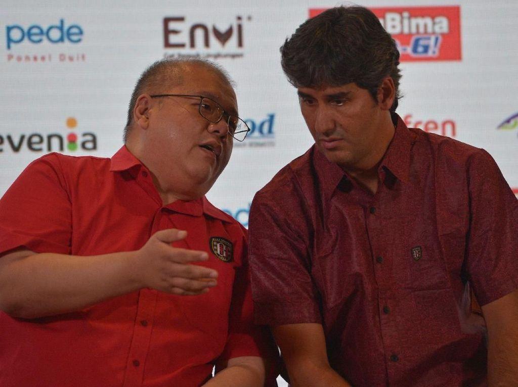 Segel Juara Liga 1, Teco ke Bali United: Terima Kasih Gajinya Lancar
