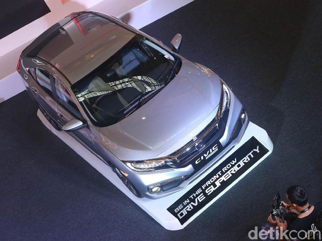 Harga Honda Civic Terbaru Naik Rp 6 Jutaan