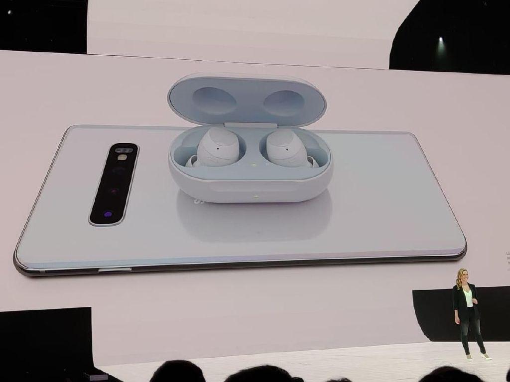 Kenalkan Galaxy Buds, Pesaing AirPod Bikinan Samsung