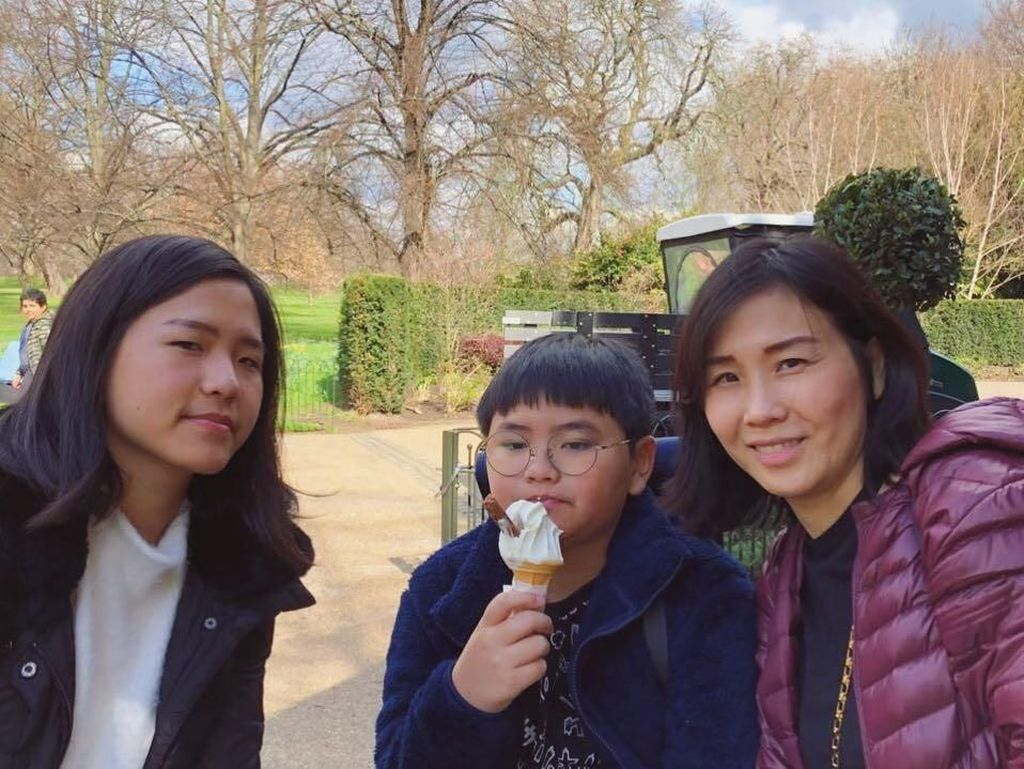 Surprise! Serunya Veronica Tan dan Anak-anak Ahok Beri Kejutan Ultah ke Daud