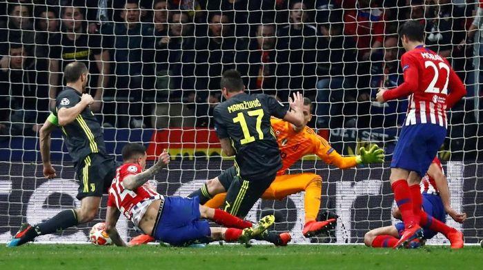 Atletico Madrid menang 2-0 atas Juventus. (Foto: Juan Medina/Reuters)