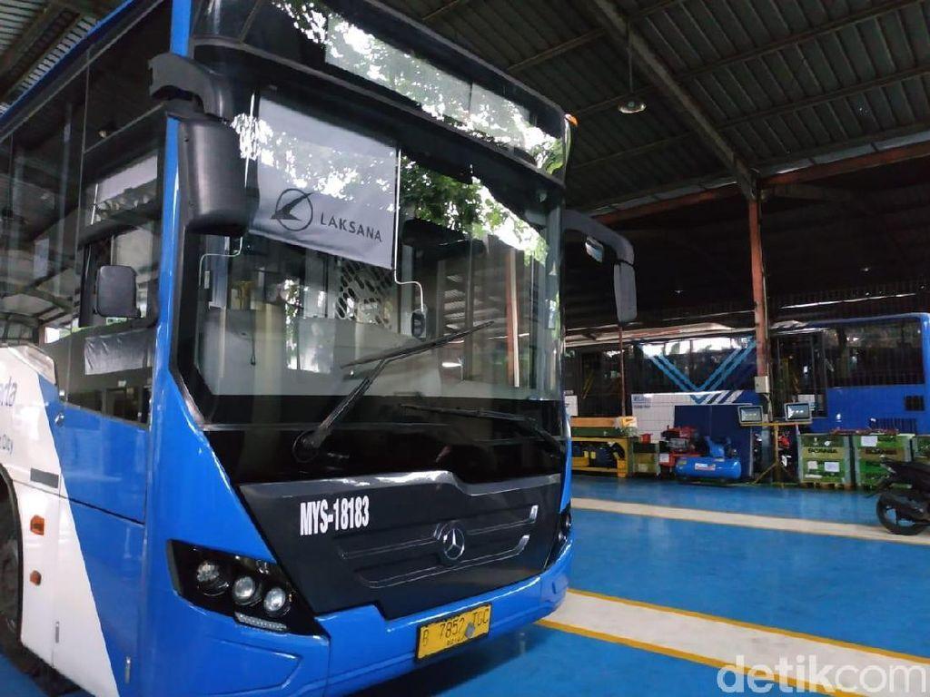 Bus Transjakarta Dirawat Langsung Oleh APM Lho!