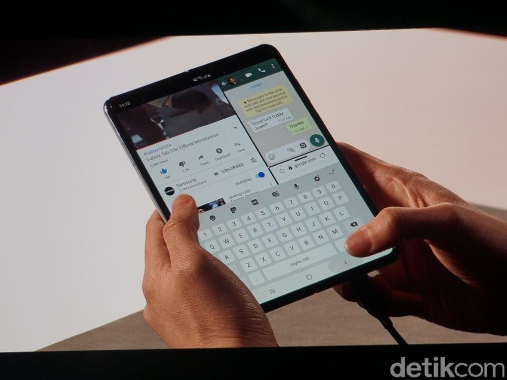 Samsung Galaxy Fold Segera Resmi Meluncur