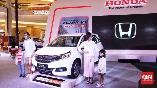 New Honda Mobilio 2019 diluncurkan di Jakarta, Kamis (21/2).