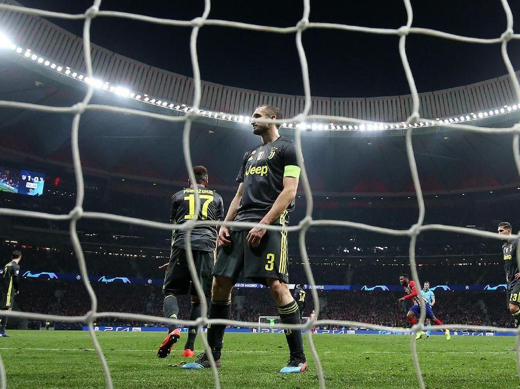 Juventus Dihukum Bola-Bola Mati Atletico