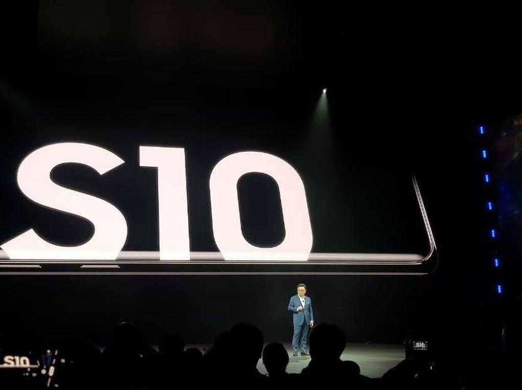 Samsung Galaxy S10, Galaxy S10+, Galaxy S10e Resmi Dirilis