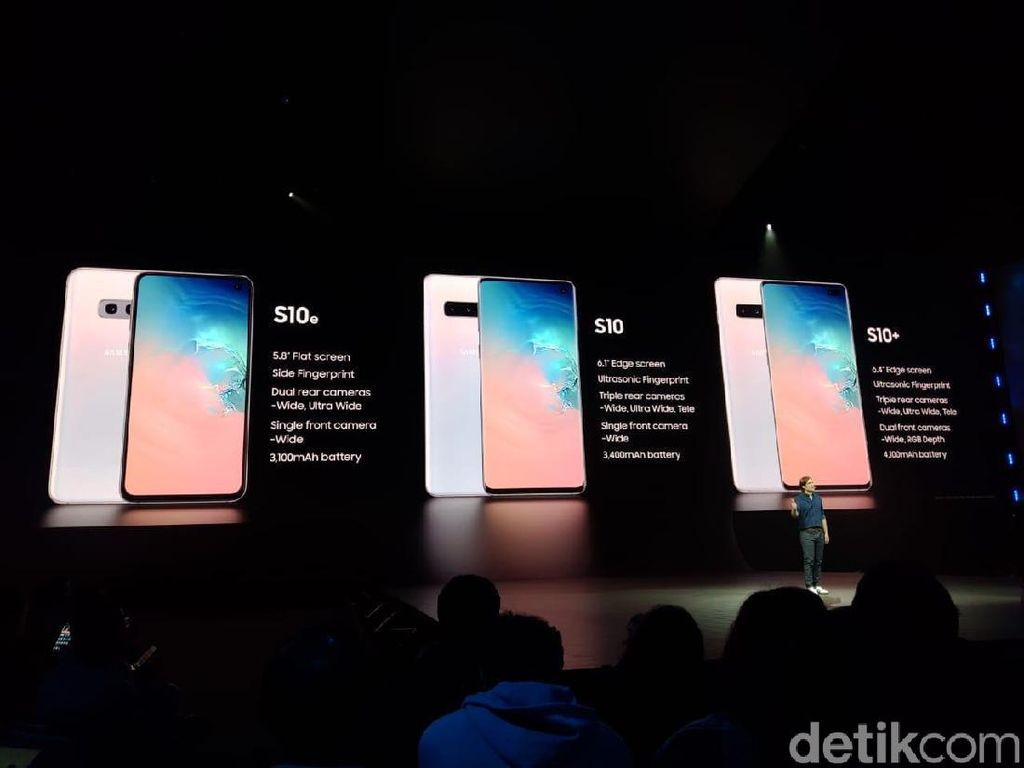 Di Mata Dian Sastro, Galaxy S10+ Futuristik Banget