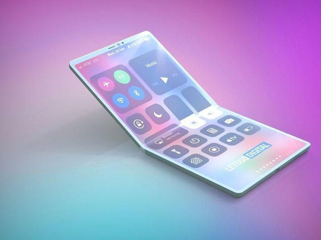 Apple Bakal Rilis iPhone Layar Lipat Tahun 2022?