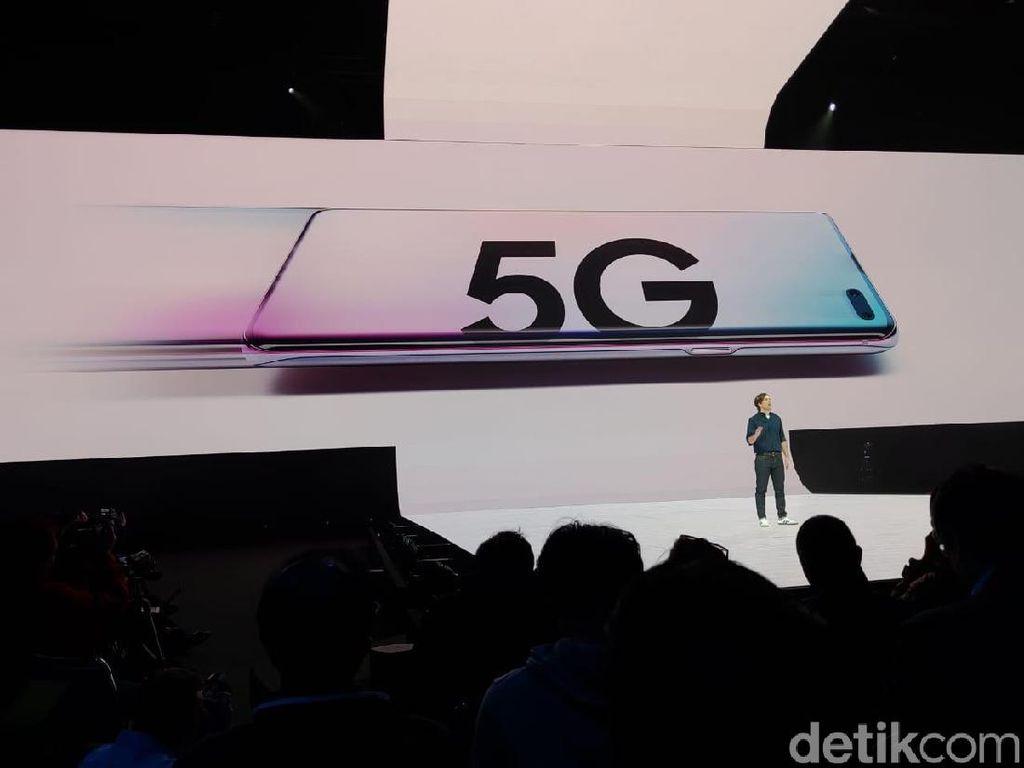 Samsung Galaxy S10 Punya Varian 5G