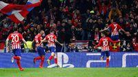 Tangguhnya Atletico di Laga Kandang Fase Knockout Liga Champions