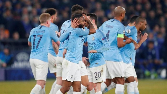 Man City berpeluang menyamai rekor Man United di final Piala Liga Inggris. Foto: Matthew Childs/Action Images via Reuters