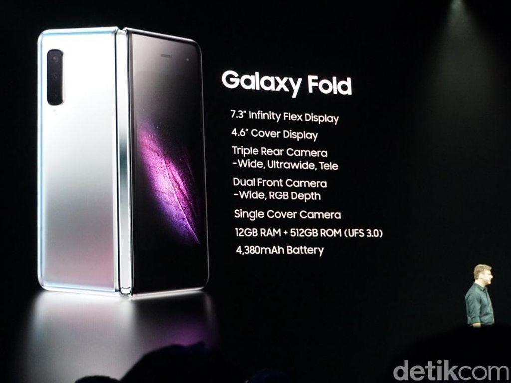 Samsung Mulai Produksi Massal Layar Galaxy Fold