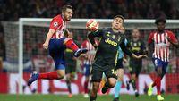 Atletico vs Juventus Sama Kuat di Babak I