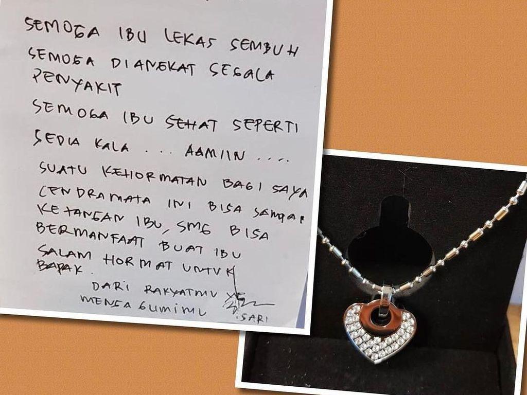Ani Yudhoyono Dapat Kalung Kesehatan dari Fans, Apa Sih Fungsinya?