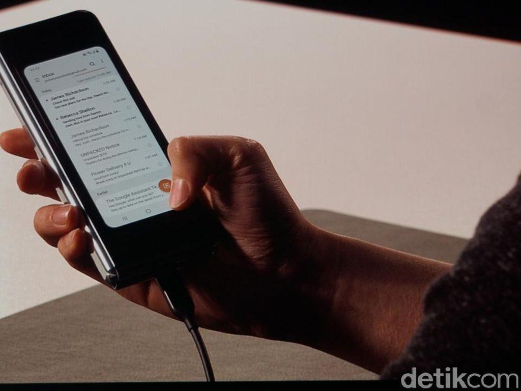 Kata Pengamat soal Ponsel Layar Lipat Samsung Galaxy Fold